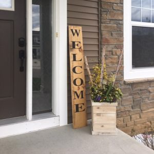 Sawdust Savvy DIY Porch Sign Workshop