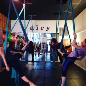 New to Aerial Silks Workshop