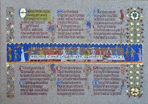 Teen Art - Illuminated Manuscript