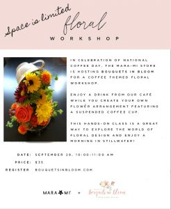 Floral Workshop at Mara Mi