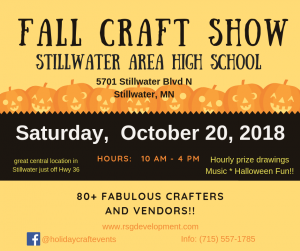 Fall Craft & Vendor Show - Stillwater High Sch...