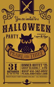 Halloween Party at Pearl & the Thief