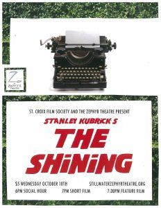 """""""The Shining"""" film screening"""