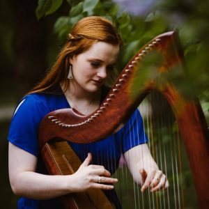 Tuesday Coffee Concert with Hannah C. Flowers, Celtic Harpist