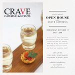 Open House with Crave Catering and Live Music