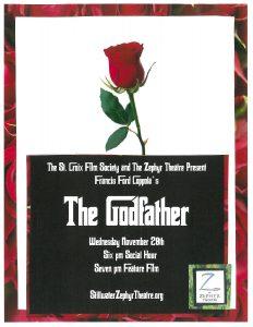 """Wednesday Night Films: """"The Godfather"""""""