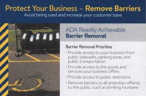 ADA Readily Achievable Barrier Removal