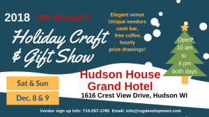 Holiday Craft & Gift Show - Hudson House