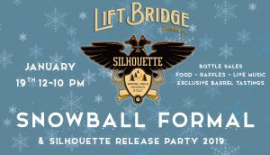 Silhouette Imperial Stout Bottles & Release Party 2019