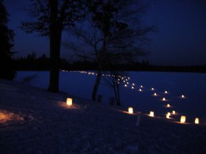 Candlelight Snowshoe & Dinner