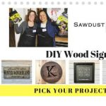 DIY Wood Project Workshop - Pick Your Project