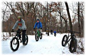 Full Moon Fat-Tire Bike Ride at Pine Point Regional Park
