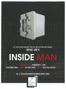 Spike Lee's INSIDE MAN