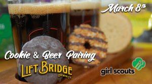 Cookies & Beer Pairing at Lift Bridge Brewery