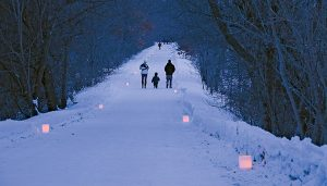 Candlelight Snowshoe and Dinner