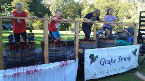 Saint Croix Vineyards Grape Stomp Festival