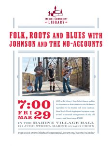 Folk, Roots and Blues with Johnson and the No-Accounts