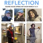 Squire House Gardens Spring Art Show