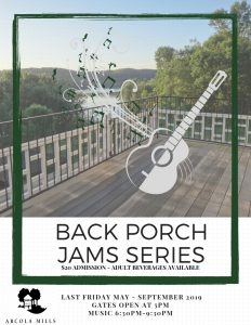 Back Porch Jams at Arcola
