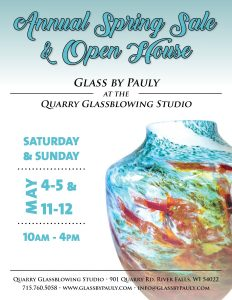Glass by Pauly Spring Sale & Open House