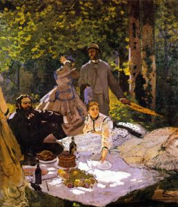 Monet's Table - Theme Dinner at Outing Lodge