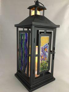 Make a Fused Glass Lantern