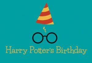 Harry Potter's Birthday Celebration