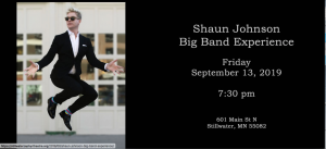 Shaun Johnson Big Band Experience