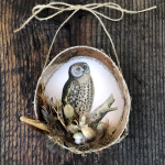 Birch Bark Hollow Ornament Workshop