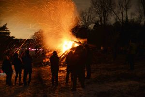 Winter Solstice Bonfire