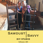 Sawdust Savvy DIY Blanket Ladder Workshop