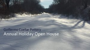 Annual Holiday Open House at Guillermo Cuellar Pottery