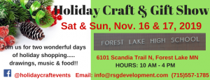 Forest Lake High School Holiday Craft & Gift S...