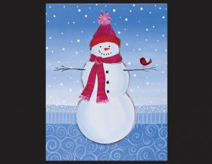 Do you want to paint a Snowman?