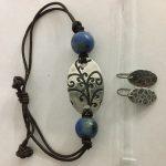 Jewelry class with Fine Silver Metal Clay Bracelet & earrings