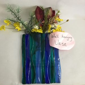 Fused Glass Wall Vase Class