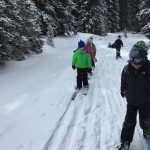 Guided Nordic Rocks Skis Program