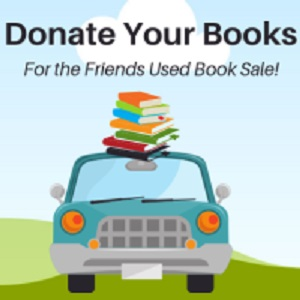 Friends Book Donations Drive