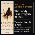 Virtual Author Event: The Sandy Lake Tragedy of 1850
