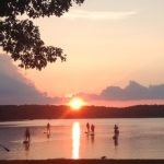 Sunset Stand-Up Paddleboarding