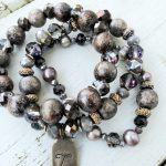Class: Stacked Beaded Bracelets with Vintage Bauble