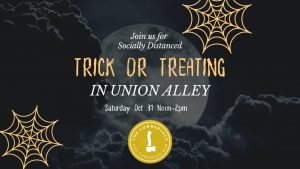 Trick or Treating in Union Alley