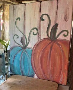Paint & Sip - Fall Pumpkin Décor Class