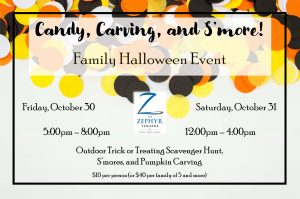 Candy, Carving, and S'more Family Halloween Even...