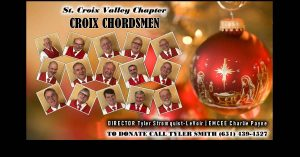 2020 Croix Chordsmen Chorus VIRTUAL Christmas Show...