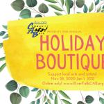 Community Arts! Base Holiday Boutique: Virtual 2020