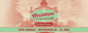 CANCELLED: Christmas at the Historic Courthouse Holiday Bazaar