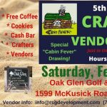 "Stillwater ""Cabin Fever"" Craft & Vendor Show"