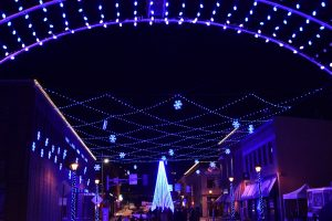 Wintertime LED Light Show