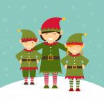 Photo-op with Santa's Elves